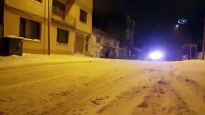 Edirne Belediyesi'nden kar mesaisi