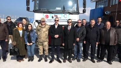 Edremit'ten Afrin kahramanlarına destek