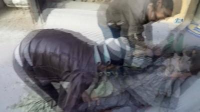 - Esad rejiminin kimyasal saldırısı çocukları öldürüyor - Doğu Guta'da bombardıman: 33 ölü