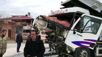 Hemzemin geçitte kaza: 1 yaralı - ELAZIĞ
