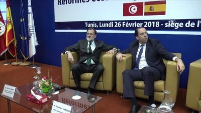 İspanya Başbakanı Rajoy, Tunus-İspanya ekonomik forumuna katıldı - TUNUS