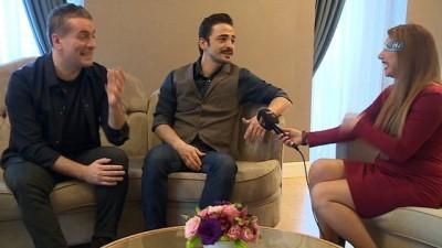 Oyuncu Ahmet Kural ve Murat Cemcir vizyona girecek olan 'Ailecek Şaşkınız' filmi ile ilgili konuştu