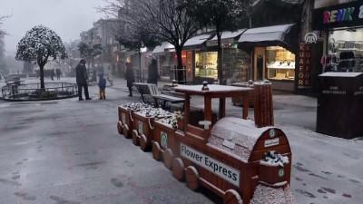 soguk hava dalgasi - Trakya'da yoğun kar yağışı - EDİRNE