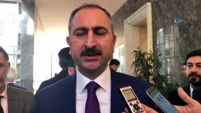 Adalet Bakanı Gül : 'Takas talebi söz konusu değil'