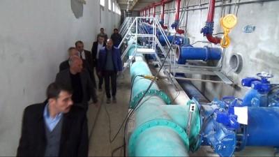 Arıtma tesisinde havuzlara test amaçlı su verilmeye başlandı