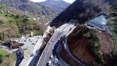 Artvin Cankurtaran tünelleri havadan görüntülendi