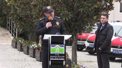 emniyet mudurlugu - Bahçelievler Belediyesi, İlçe Emniyet Müdürlüğüne 10 araç tahsis etti - İSTANBUL