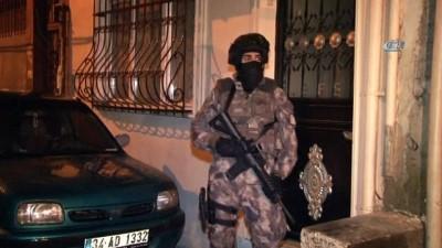 Kağıthane'de şafak vakti narkotik operasyonu: 40 gözaltı