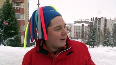 'Kar tatili'nin keyfini çocuklar çıkardı - EDİRNE