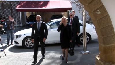 KKTC Cumhurbaşkanı Akıncı BM Temsilcisi Spehar ile görüştü - LEFKOŞA