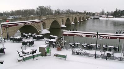 Trakya'da kar yağışı - EDİRNE