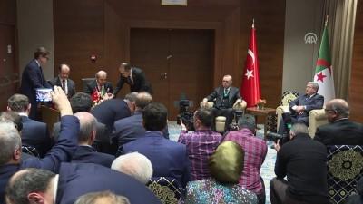 Türkiye ile Cezayir arasında bazı anlaşmalar imzalandı - CEZAYİR