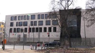 patlama sesi - Türkiye'nin Berlin Büyükelçiliği'ne saldırı