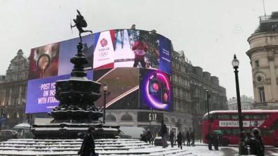 soguk hava dalgasi - İngiltere'de kar ve don hayatı olumsuz etkiliyor - LONDRA