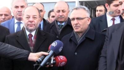 Başbakan Yardımcısı Akdağ ve Maliye Bakanı Ağbal, Erzurum'da