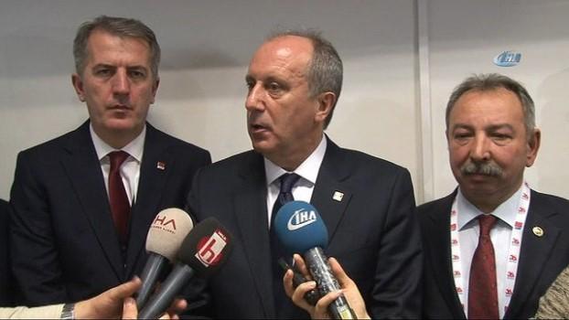 haramiler -  CHP Genel Başkan adayı Muharrem İnce: '700'e yakın bir oyla genel başkan seçileceğim'