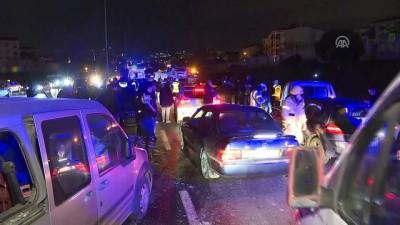 Esenyurt-Bahçeşehir TEM bağlantı yolunda zincirleme kaza: 12 yaralı - İSTANBUL