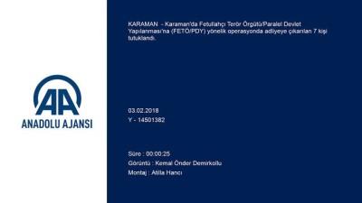 FETÖ/PDY operasyonu - KARAMAN