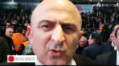 Ömer Faruk Eminağaoğlu'nun konuşması engellendi!