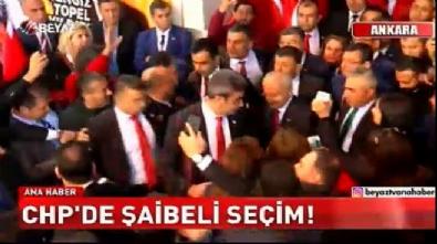 chp kurultay - CHP'de şaibeli seçim