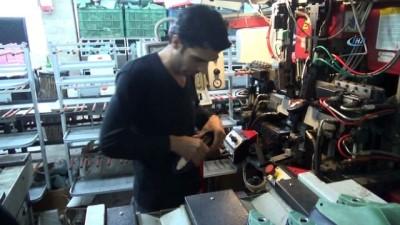 Kahramanmaraş'ta günde 25 bin çift kadın ayakkabısı üretiliyor