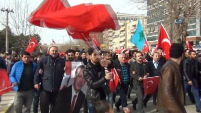 Mardin'den operasyondaki asker ve polise destek