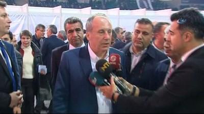 """legen -  Muharrem İnce, """"Korku düzenini yok edeceğiz diyenler, CHP'de korku düzeni kurdular"""""""