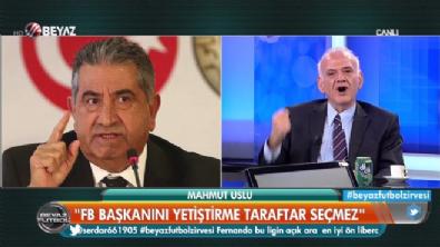 Ahmet Çakar'dan Mahmut Uslu'ya sert sözler