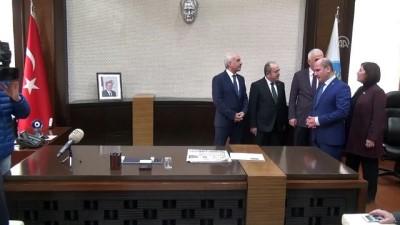 AK Parti Genel Başkan Yardımcısı Kaya, Belediye Başkanlığı görevine seçilen Zeki Gül'ü ziyaret etti - ÇORUM