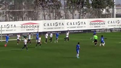 Futbol: Hazırlık maçı - Zenit-Stumbras - ANTALYA
