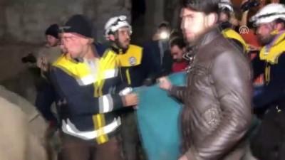 rejim karsiti - Hava saldırısında 8 sivil öldü, en az 40 sivil yaralandı - İDLİB