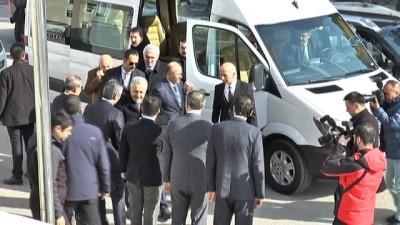 Bakan Arslan, şehit cenazesine katılmak üzere Erzurum'a geldi