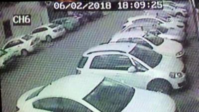 Banka şubesindeki silahlı soygun - Zanlının kaçış anı güvenlik kamerasında - KAYSERİ
