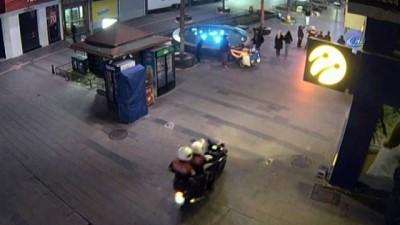 Antalya'da motosikletli gaspçı sevgililer yakalandı