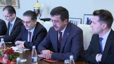 Bakan Zeybekci: '(Gümrük Birliğinin güncellenmesi) 'Bu Türkiye'ye verilen bir imtiyaz, bir ödün değildir' - SOFYA
