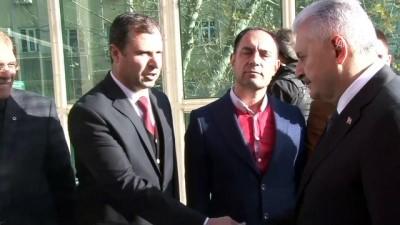 Başbakan Yıldırım, Mardin Valiliği'ni ziyaret etti
