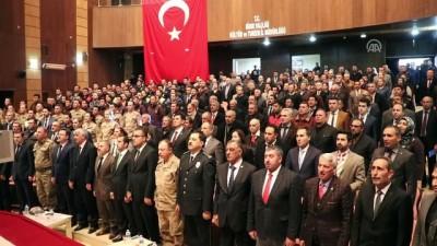Iğdır'da Devlet Övünç Madalyası ve Beratı Tevcih Töreni