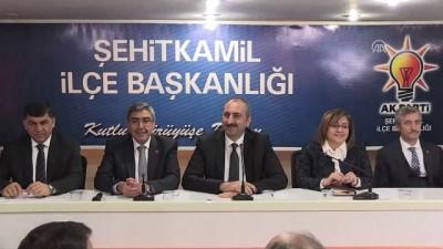 Adalet Bakanı Gül, AK Parti Şehitkamil İlçe Başkanlığı'nı ziyaret etti - GAZİANTEP
