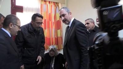 Adalet Bakanı Gül, tedavi altına alınan askerleri ziyaret etti - GAZİANTEP