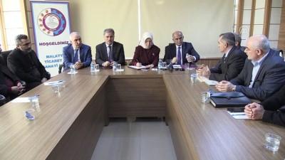 Çalık: 'Terör tehditlerine ve uluslararası ülkelerin tehditlerine rağmen Türkiye büyümeye, güçlenmeye devam diyor' - MALATYA