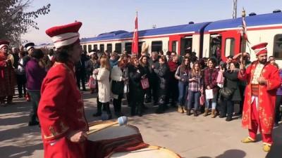 'Doğu Ekspresi' yolcularına mehteranlı karşılama - ERZİNCAN