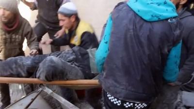 - Doğu Gota ve İdlib'te ölü sayısı 180'i geçti