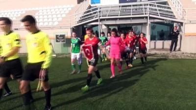 Hazırlık maçı - 17 Yaş Altı Kız Milli Futbol Takımı, Kuzey İrlanda'yı 3-0 yendi - ANTALYA