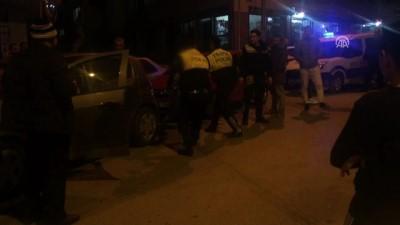 Kazaya karışıp kaçan sürücü yakalandı - MANİSA