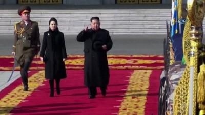 - Kış Olimpiyatları Öncesi Kuzey Kore'den Askeri Geçit Töreni