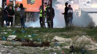 İsrail'den Batı Şeria'daki gösterilere müdahale - NABLUS