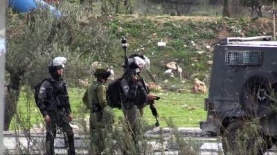 İsrail'den Batı Şeria'daki gösterilere müdahale - RAMALLAH