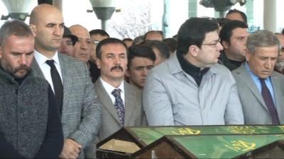 Merhum Türkeş'in özel kalem müdürü Cezaroğlu son yolculuğuna uğurlandı