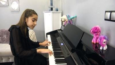 Minik piyanistin hedefi dünya ligi - MANİSA