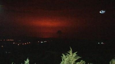 Savaş uçakları Afrin'de hedefleri böyle vurdu